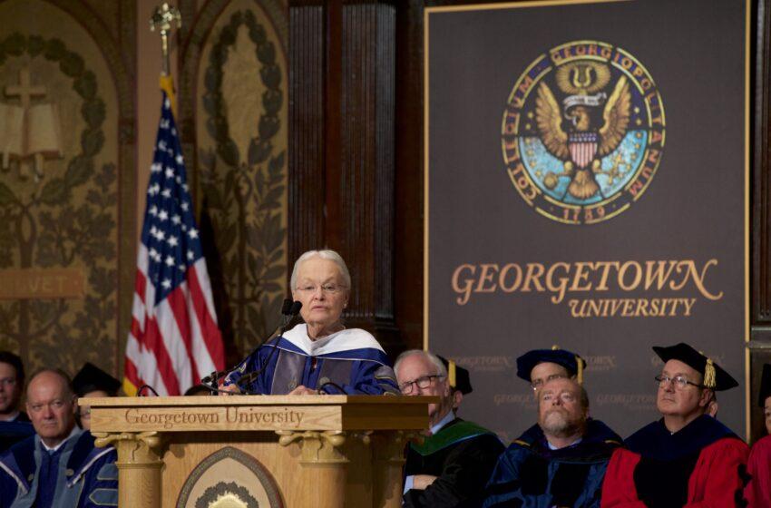 UTEP's Natalicio Addresses Georgetown Convocation
