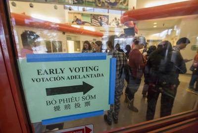 More Than 2,980,915 Texans Have Already Voted in the Midterm Election