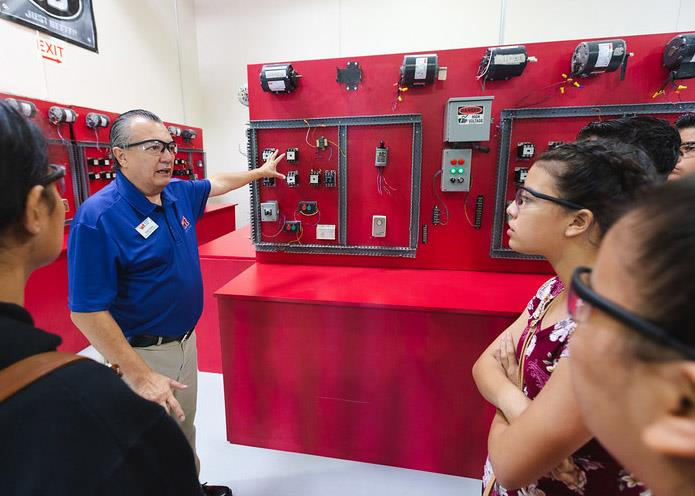 8th Graders Learn From Businesses, Industries During First-Ever Job Shadowing Event
