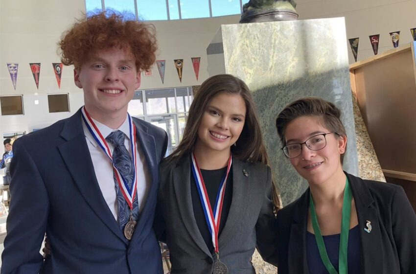 Socorro ISD Students Headed to State for Legislative Contest