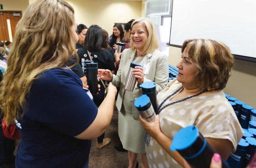 Socorro ISD Celebrates CNS Staff's Accomplishments, Dedication