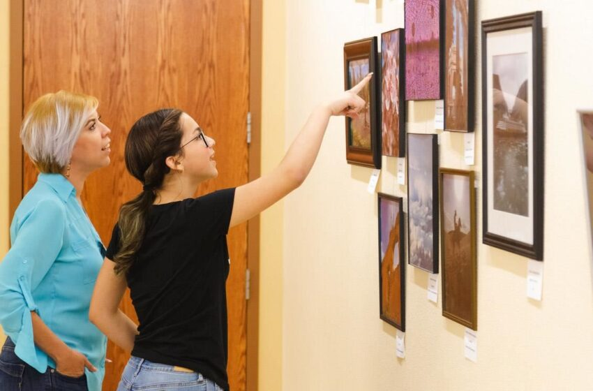 Exhibit Showcases Cell Phone Photography by SISD Students, Employees
