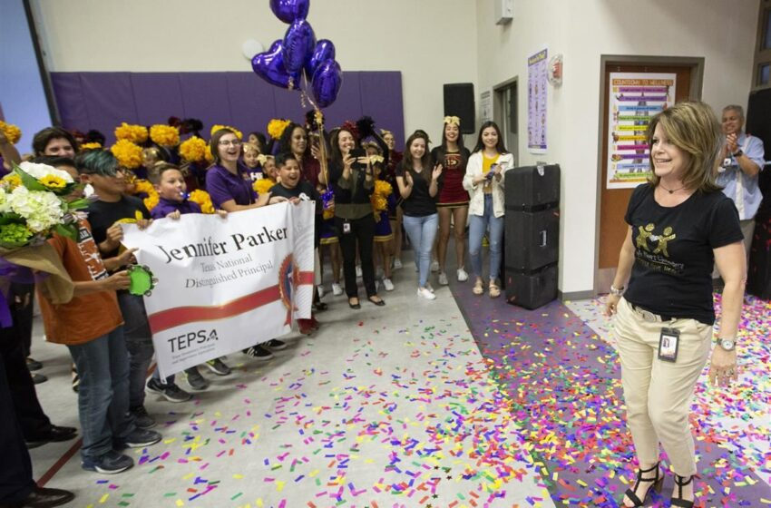 Purple Heart Elementary Principal Honored as Texas 2018 National Distinguished Principal