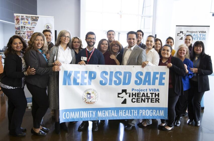 SISD, Project Vida Team Up, Earn Grant to Provide Behavioral Health Services at Schools