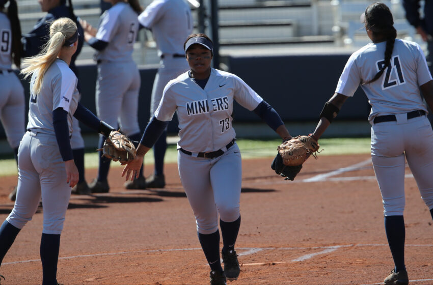 UTEP Softball's Baber Named C-USA Player of the Week