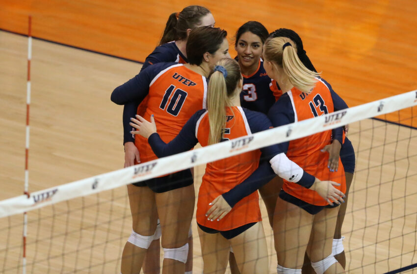 UTEP Volleyball Prepares For Final Home Match Sunday