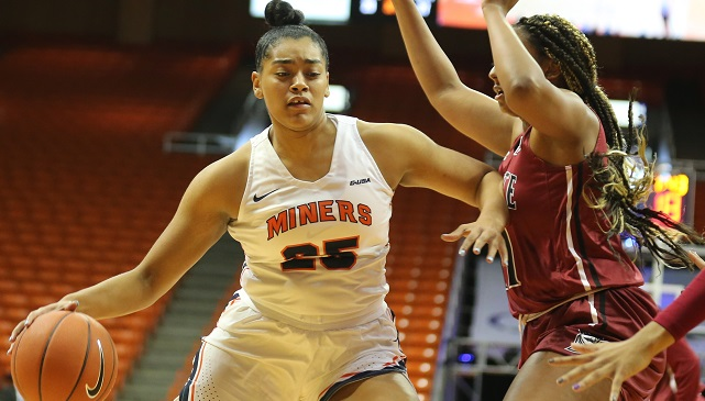 Taylor Tallies Career-High 16 Points But UTEP Falls To Akron 64-57