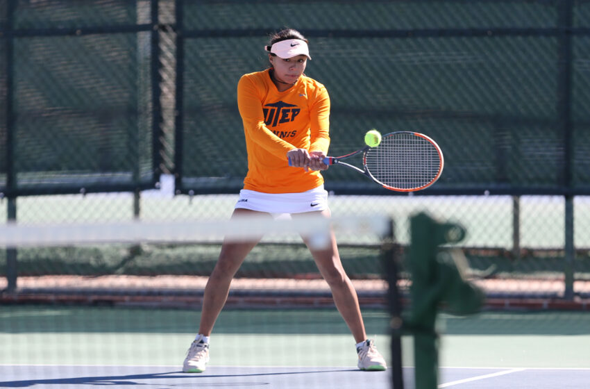 UTEP Tennis Defeats Central Oklahoma 5-2; Utah State Up Next on Sunday