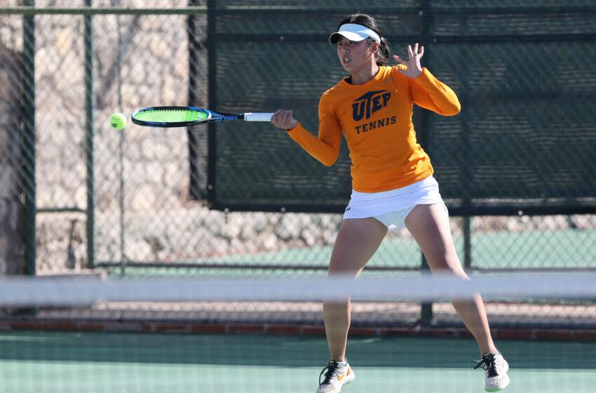 UTEP Tennis Battles In 6-1 Setback At UT-Arlington
