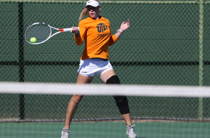 UTEP Tennis Races Past Roadrunners 5-2; University of Central Oklahoma Up Next on Saturday