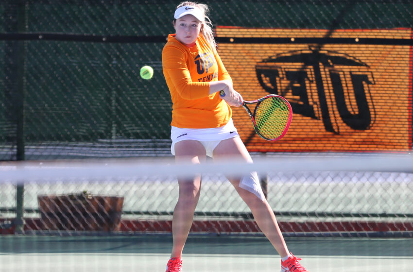 UTEP Tennis Falls In Rain-Shortened Match At North Texas 4-0