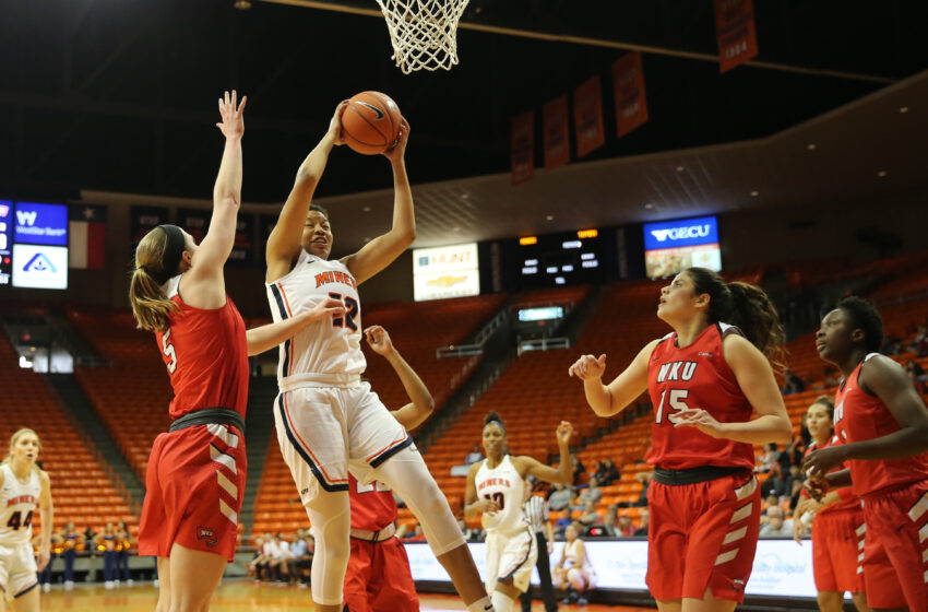 UTEP set to host UTSA Saturday; Fans in Free for National Girls and Women in Sports Day