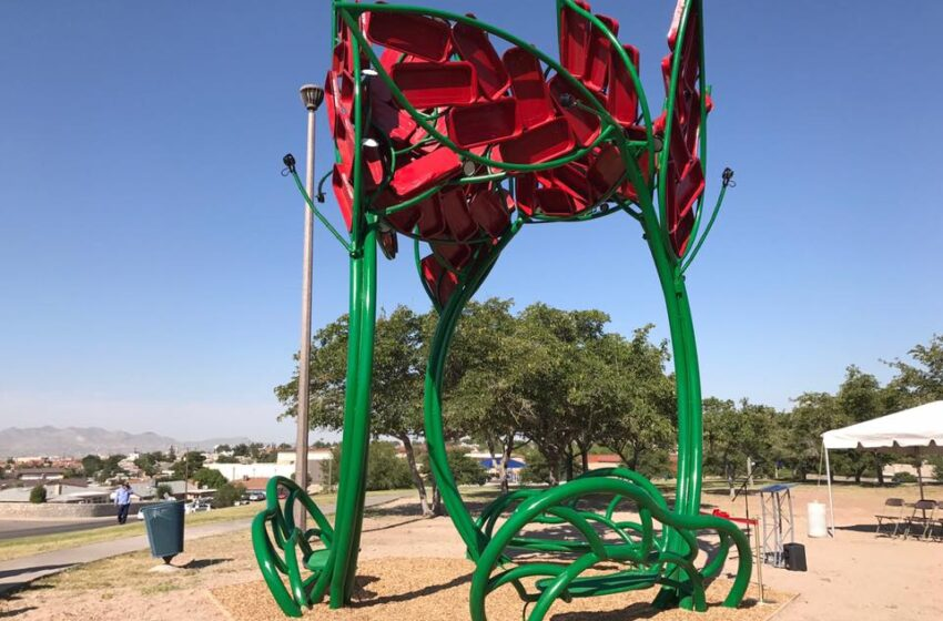 New Public Art Project at Travis White Park Dedicated Thursday