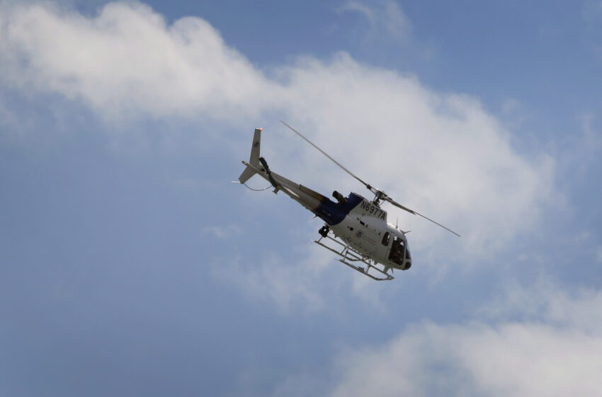 CBP Air and Marine Chopper and Crew Assists Border Patrol After Agent is Assaulted