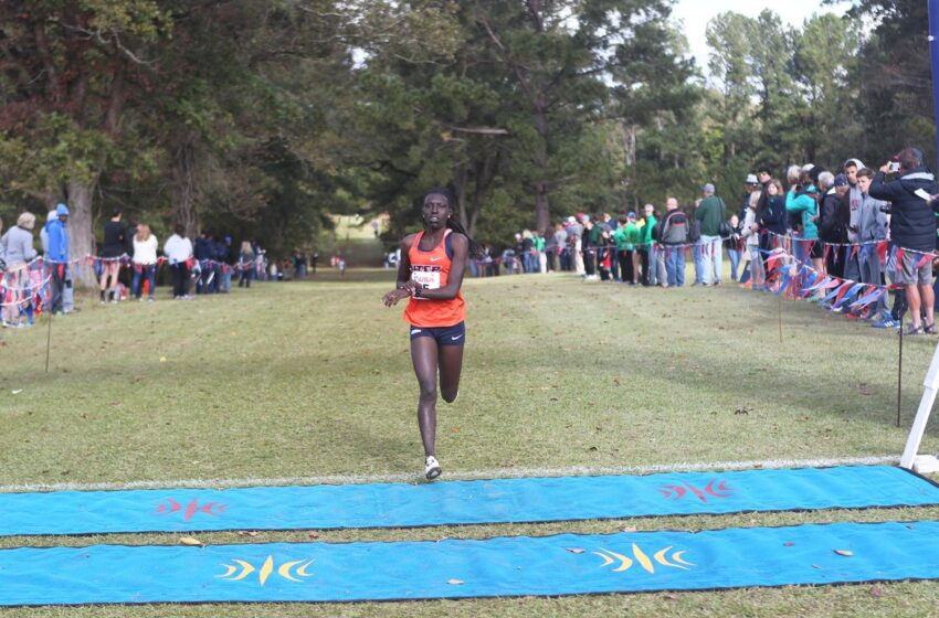 UTEP Women's Cross Country Team Finishes First at Lori Fitzgerald Open