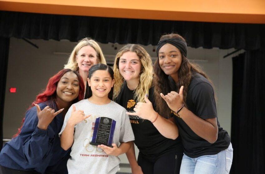 Canutillo ISD Student Receives UTEP Athletics Award