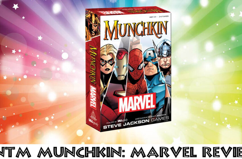 TNTM Munchkin Marvel Edition game review