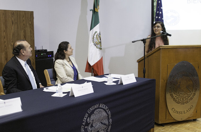 Mexican Consulate Recognizes EPCC Students