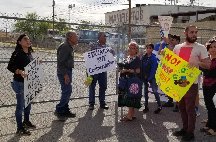 Segundo Barrio, Chamizal Residents Share Reasons Behind EPISD Bus Hub Protest