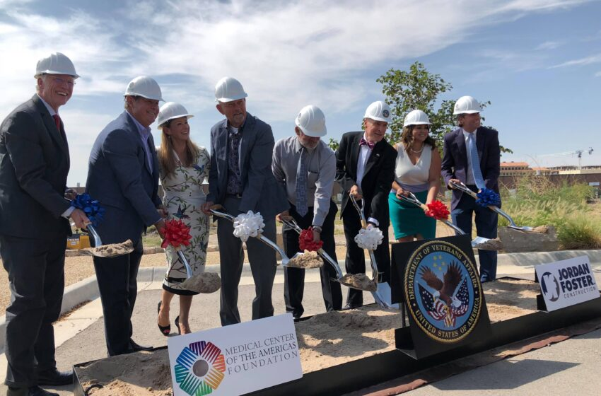 Groundbreaking Held for Freestanding VA Mental Health Facility
