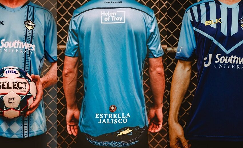 Video+Pics: El Paso Locomotive FC Reveals Official Kit, Manufacturer
