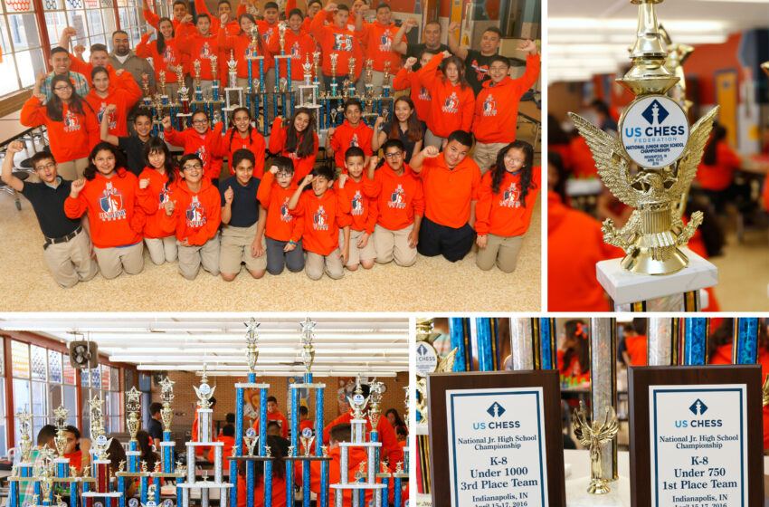 Henderson Middle School Chess Team Checkmates the Competition