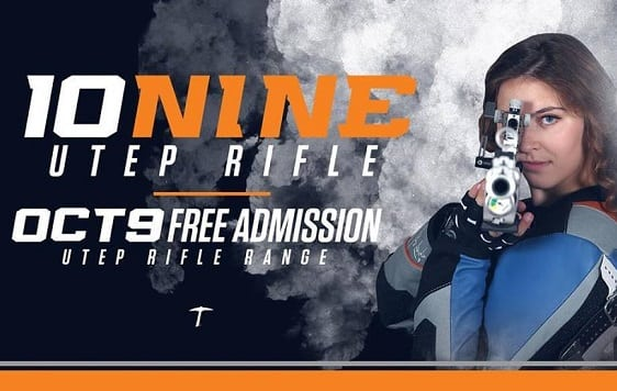 UTEP Rifle Inviting Fans For 10.9 Day Tuesday