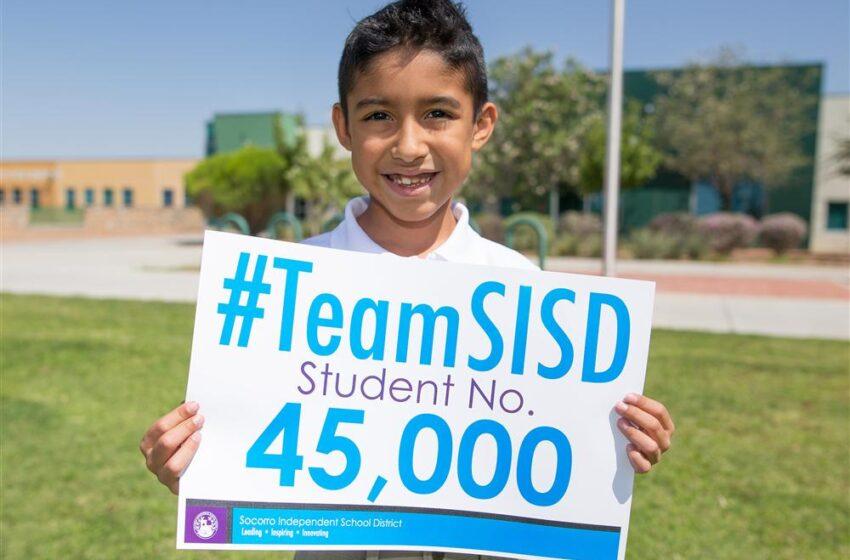 History made: Socorro ISD enrolls student number 45,000