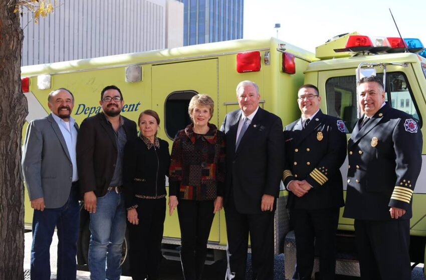 EPFD Donates Rescue Unit to Small Town in Chihuahua