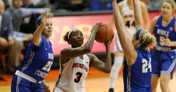 Middle Tennessee Melts Miners at Home 54-45