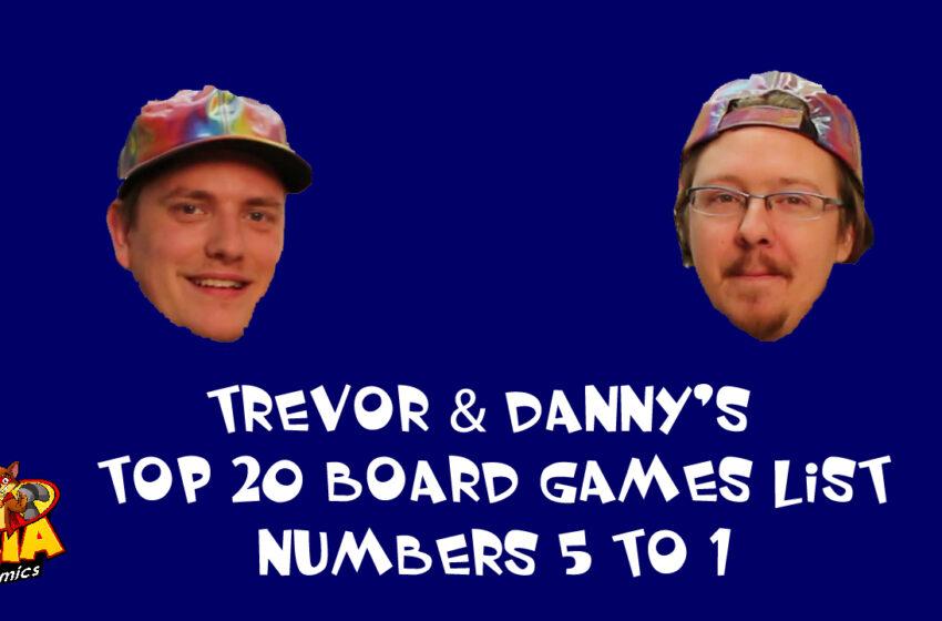 TNTM: Top 20 Board Games part 4