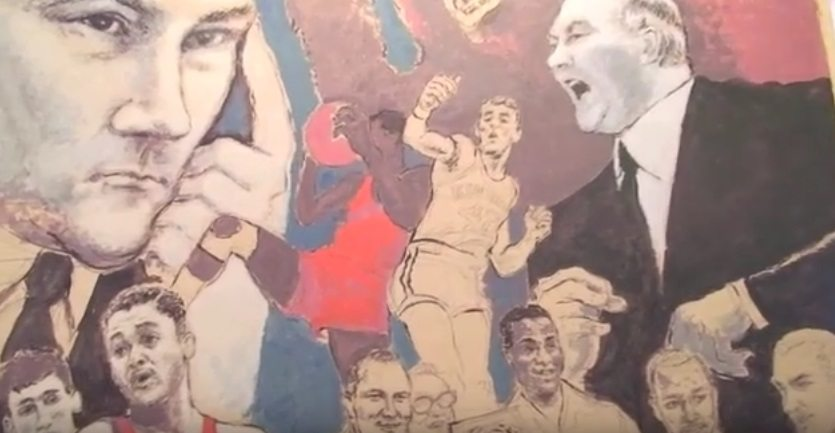 Video+Story: Bar Honors 1966 NCAA Champions with Mural, Photos and Shared Memories