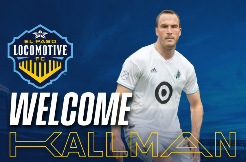 Locomotive FC acquires Defender Brent Kallman on loan from Minnesota United FC