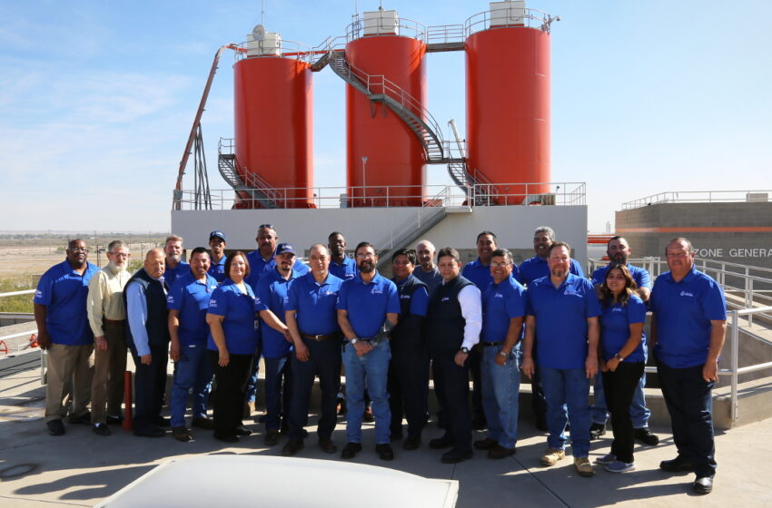 EPWater Celebrates 25th Anniversary of Jonathan Rogers Plant