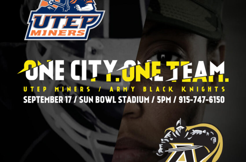UTEP Unveils Preliminary Marketing Campaign For Army Game