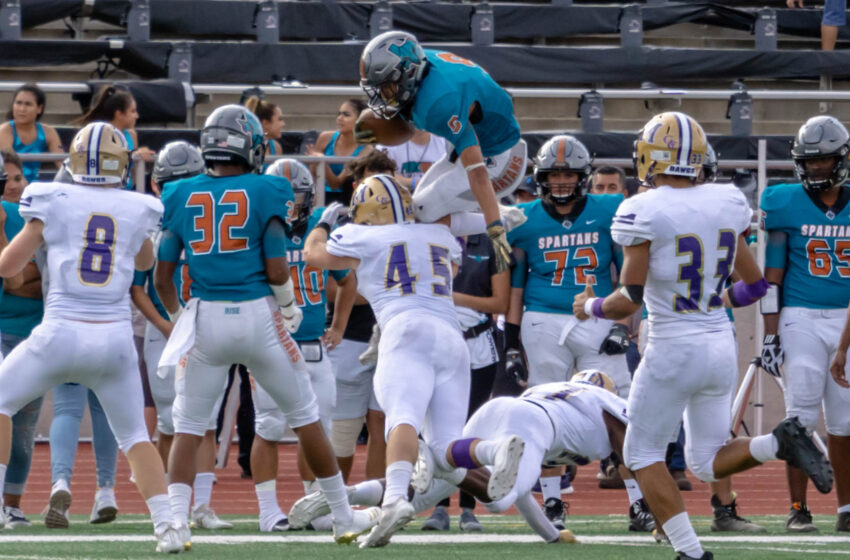 Story in Many Pics: Pebble Hills Spartans Soar, Beat Midland 42-38