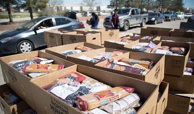 El Pasoans Fighting Hunger reaches $1M goal; Officials announce new $600K Challenge