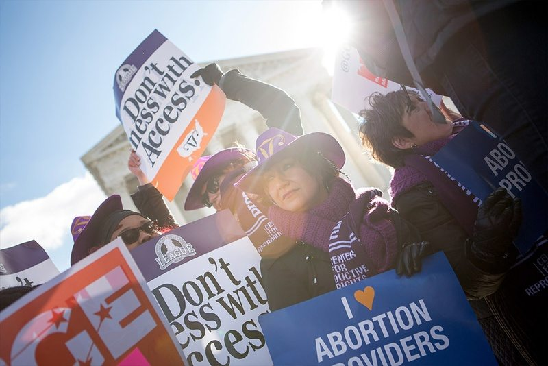 U.S. Supreme Court Overturns Texas Abortion Restrictions