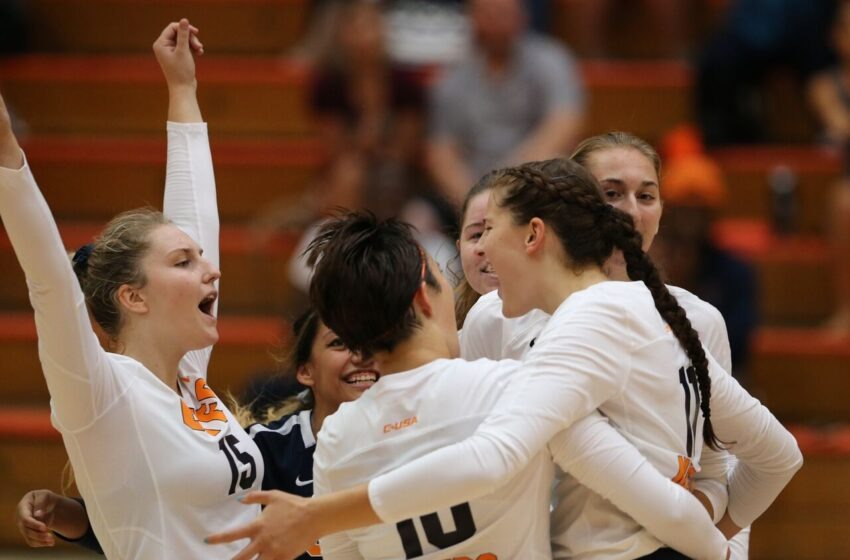 UTEP Volleyball Splits Final Day of California Road Trip