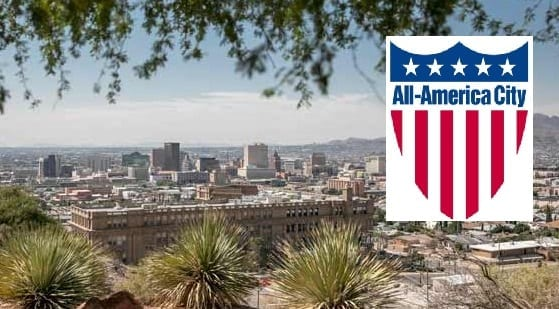 City of El Paso Named 2018 All-America City; Third Time City Takes National Honor