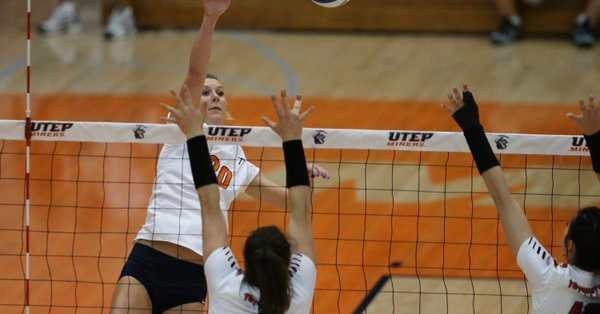 Miner Volleyball Dominate Hornets in Borderland Invitational
