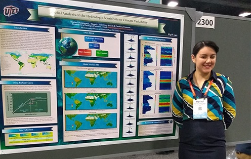 UTEP Doctoral Student's Research Recognized by American Geophysical Union