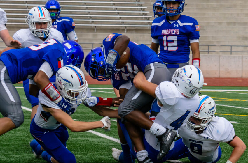 Story in Many Pics: Americas Falls to Midland Christian 22-3