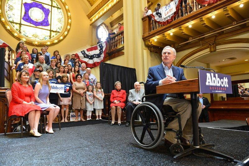 With No Opposition in Sight, Texas Gov. Greg Abbott Formally Launches 2018 Re-Election Bid