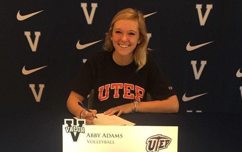 UTEP Volleyball Coach Watts Announces the Addition of Abby Adams for 2017