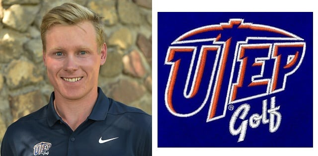 UTEP Men's Golf Places Seventh, Ambrosius Finishes in Top 10