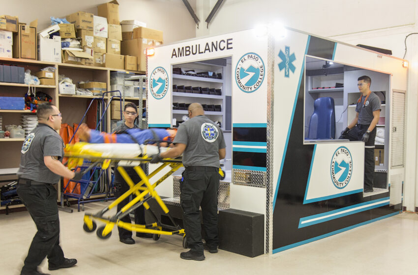 EPCC EMT Students have New Tool for Simulated Training, Echoing Real-Life Experience