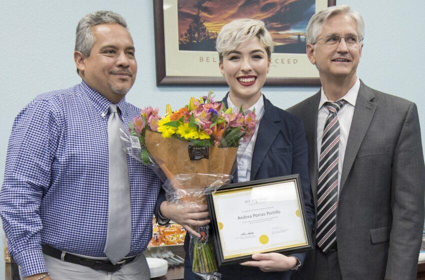 EPCC Student Awarded $40,000 Transfer Scholarship