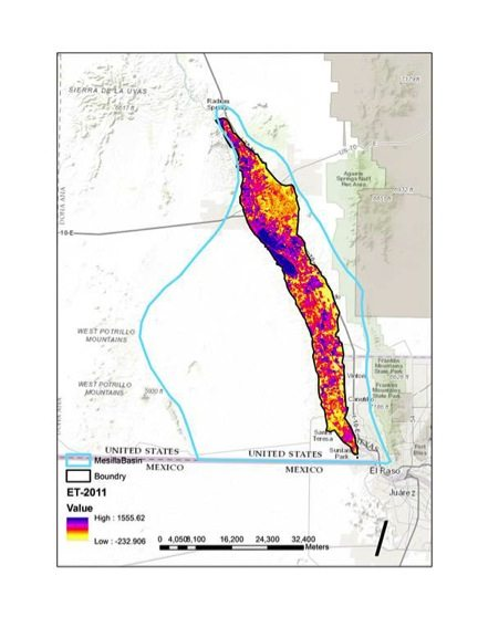 NMSU Project uses Satellite Technology to Evaluate Southern New Mexico Water Resources