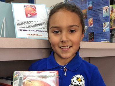 Ascarate Elementary Student to Represent School, County at Statewide Ceremony